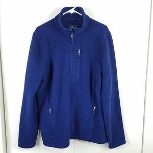 L.L. Bean Trail Model Fleece Jacket  Sz XL Tall